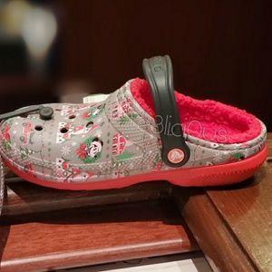 Disney Shoes - DISNEY PARKS MICKEY CHRISTMAS CROCS